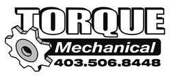 torque mechanical white logo