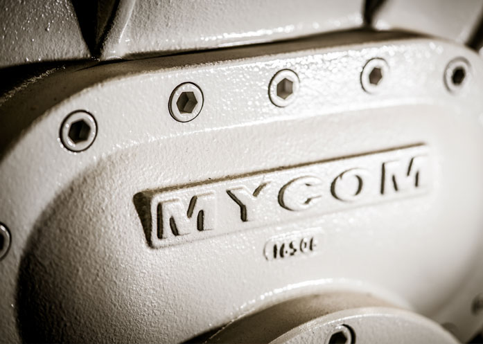 Mycom screw compressor
